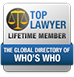 Top Lawyer Lifetime Member | The Global Directory of Who's Who
